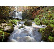 Scale Haw Waterfall - Hebden Photographic Print
