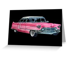 Pink Cadillac Greeting Card