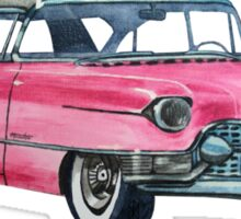 Pink Cadillac Sticker