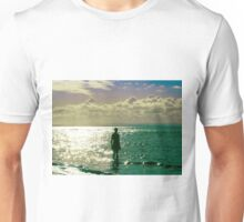 Mid afternoon light, Crosby beach Unisex T-Shirt