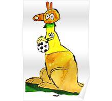 Dan's Socceroo!  Poster