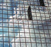 windows in blue by Janis Read-Walters