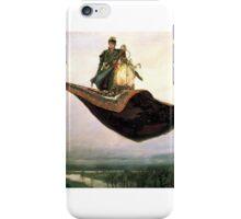 Man on flying Carpet iPhone Case/Skin