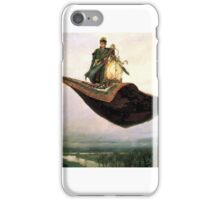 Man on flying Carpet iPhone Case/Skin