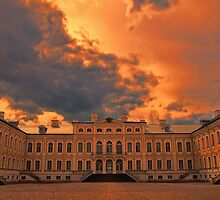 Latvia. Rundale Palace. Sunset. by vadim19