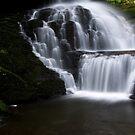 Lower Part of Bridemaids Waterfalls-Bushkill Falls by BigD