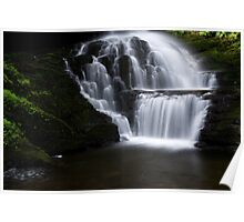 Lower Part of Bridemaids Waterfalls-Bushkill Falls Poster