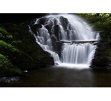 Lower Part of Bridemaids Waterfalls-Bushkill Falls Photographic Print
