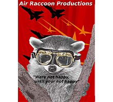 Air Raccoon Productions Photographic Print