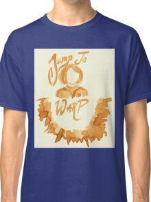 Jump To Warp - Captain Coffee - Coffee Wash Classic T-Shirt