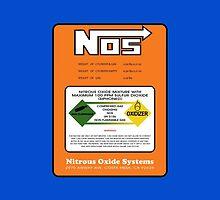 NOS Nitrous Bottle Label by Haxyl