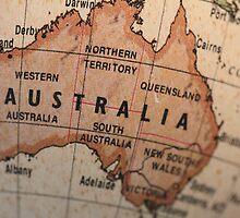 Australia map by adpixels