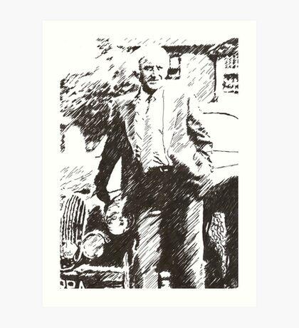 Inspector Morse Art Print