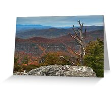 Linville Gorge Greeting Card