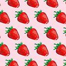 Strawberry Pattern by 4ogo Design