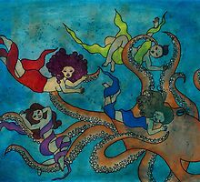 Octopus Love / Tako Ani by Laura Hutton