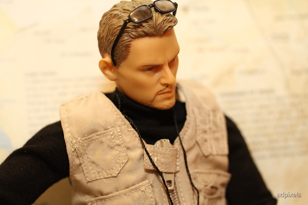 War Journalist Figurine - Closeup by adpixels
