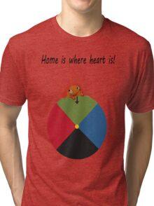 Calcifer - Home is where heart is Tri-blend T-Shirt
