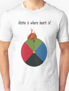 Calcifer - Home is where heart is Unisex T-Shirt