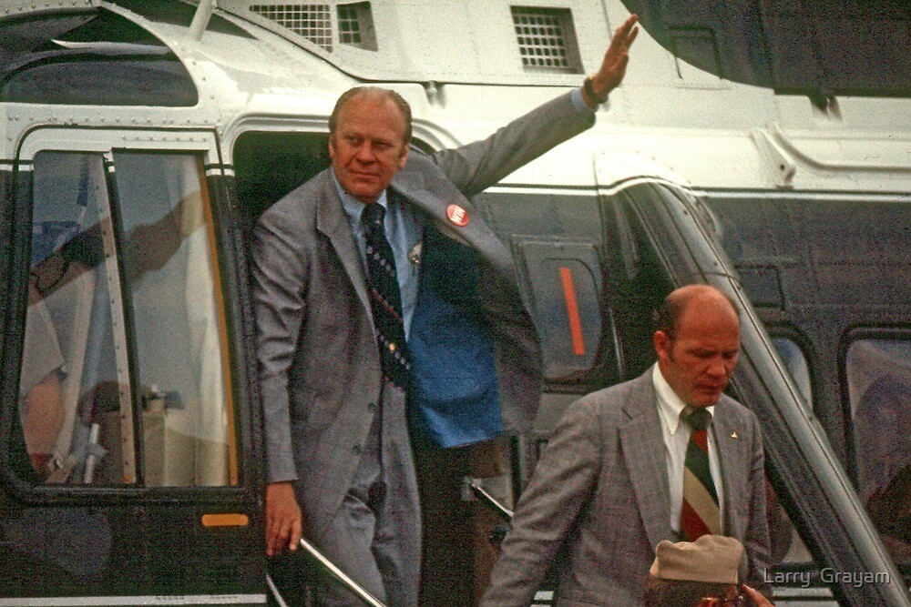 Gerald Ford by Larry  Grayam