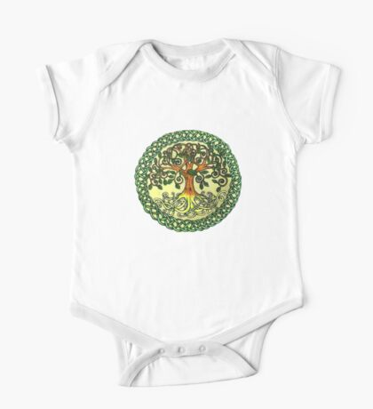 Celtic Tree of Life One Piece - Short Sleeve