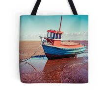 Fishing boat, Meols, Wirral Tote Bag