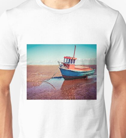 Fishing boat, Meols, Wirral Unisex T-Shirt