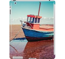 Fishing boat, Meols, Wirral iPad Case/Skin
