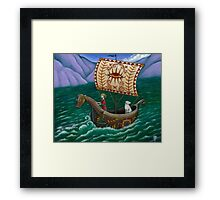 To the Sea we go... Framed Print