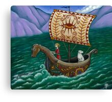 To the Sea we go... Canvas Print