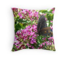 Flutterby Throw Pillow