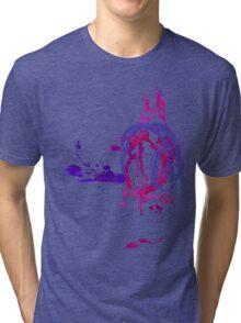 Eat, Sleep, Breathe ... MUSIC (purple) Tri-blend T-Shirt