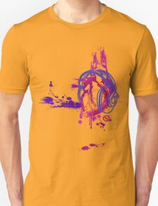 Eat, Sleep, Breathe ... MUSIC (purple) T-Shirt