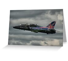 RAF BAE Hawk at Abingdon Airshow 2009 Greeting Card