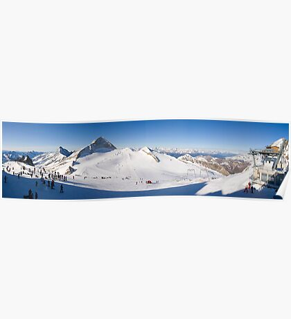 Tux Ski Area Poster