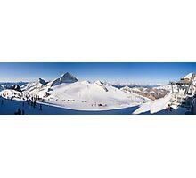 Tux Ski Area Photographic Print