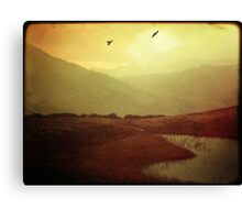 Over the Far and Hills Away Canvas Print