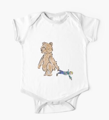 baby bears favorite doll One Piece - Short Sleeve