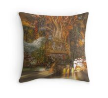 The Past Alive in the Present in Ghana Throw Pillow