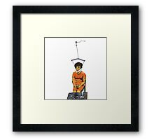 Neck Brace Framed Print
