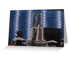 Fountain Square Greeting Card