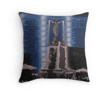 Fountain Square Throw Pillow