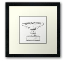 Surfing Trophy  Framed Print