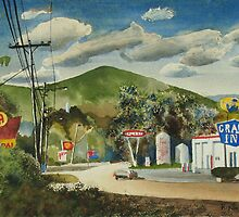 Nostalgia, Arcadia Valley, 1985 by KipDeVore