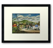 Nostalgia, Arcadia Valley, 1985 Framed Print