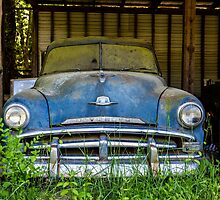 Blue Plymouth by dbvirago