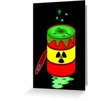 Toxic by Chillee Wilson Greeting Card