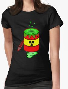 Toxic by Chillee Wilson Womens Fitted T-Shirt