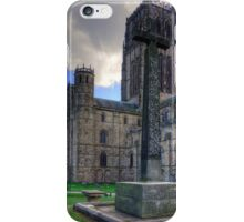 Durham Light Infantry Memorial Cross iPhone Case/Skin