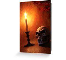 Dracula's Skull Greeting Card